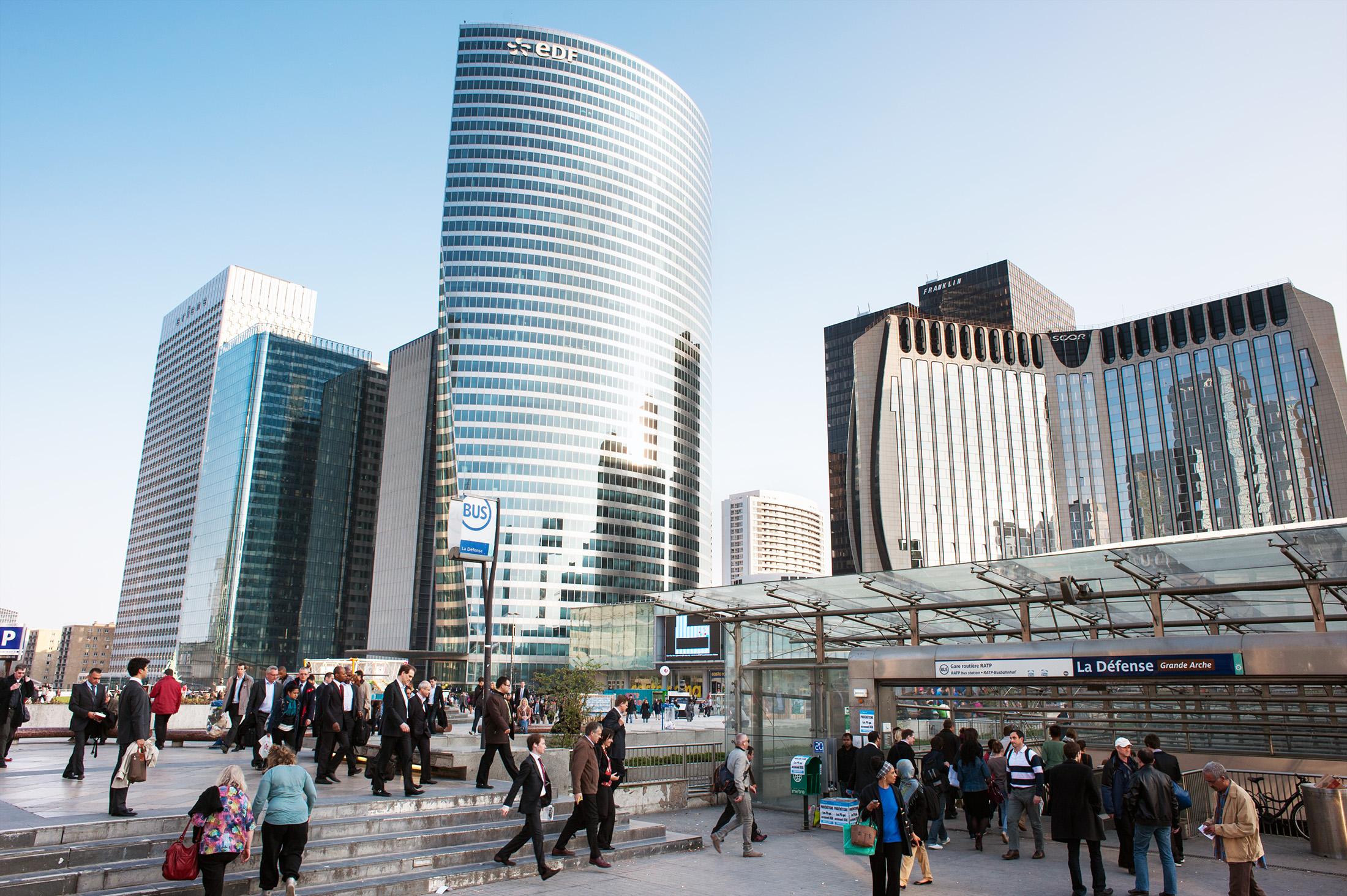 La Défense district